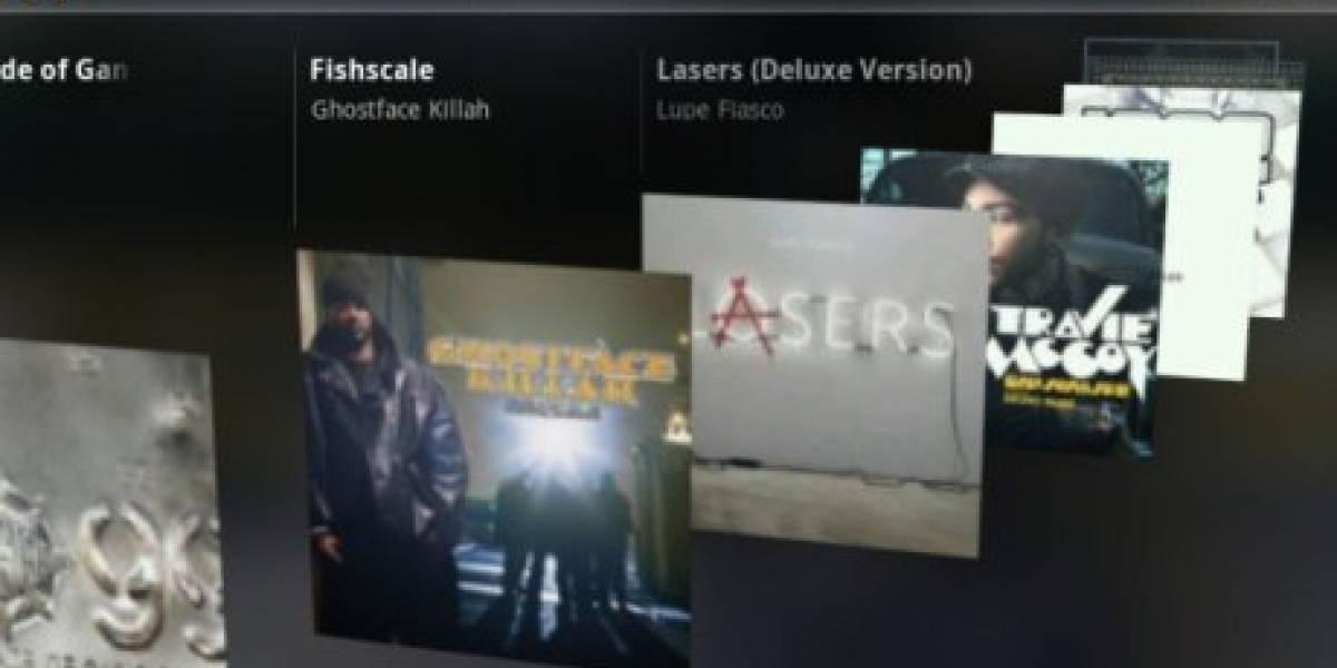 Se filtraron fotos del próximo servicio de música de Google