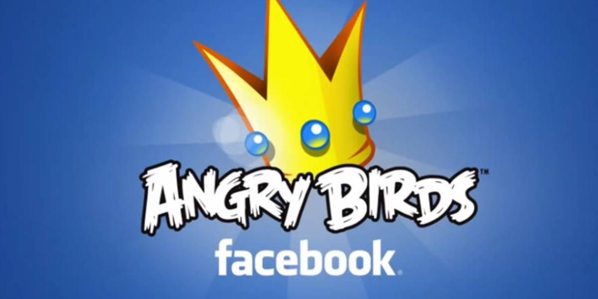 Angry Birds llegará a Facebook el día de San Valentín