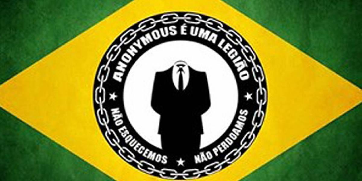 Anonymous ataca bancos brasileños para protestar contra la desigualdad económica