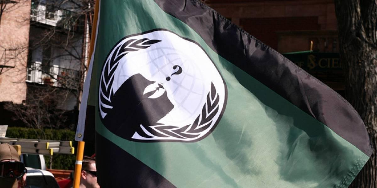 """Anonymous convoca boicot contra la industria de contenidos en un """"marzo negro"""""""