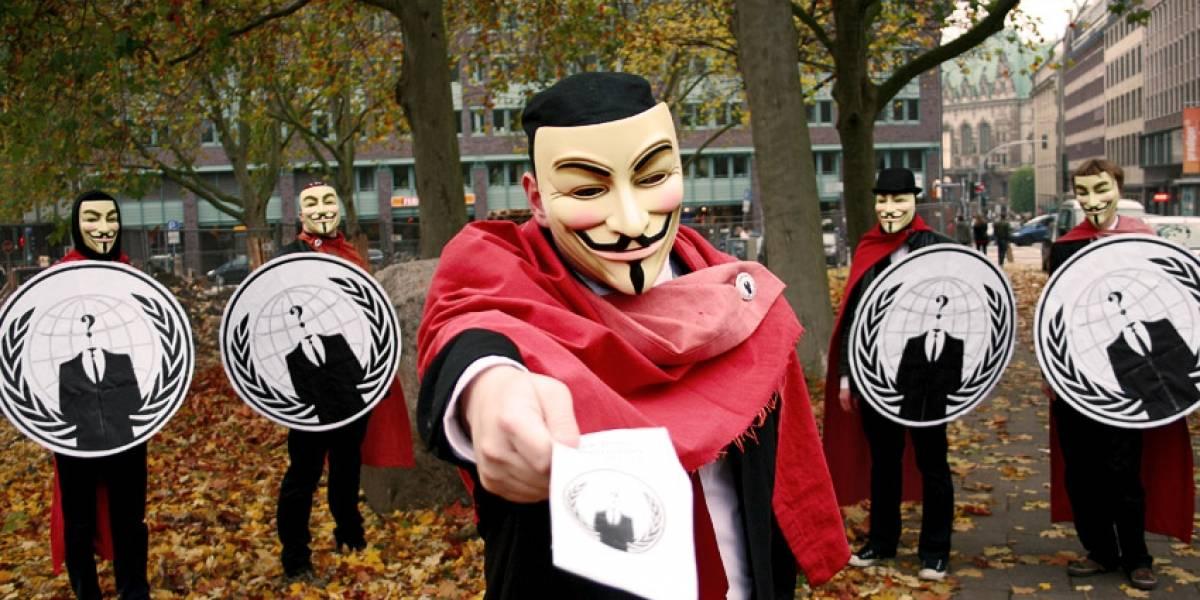 España: Anonymous se 'presenta' a las elecciones