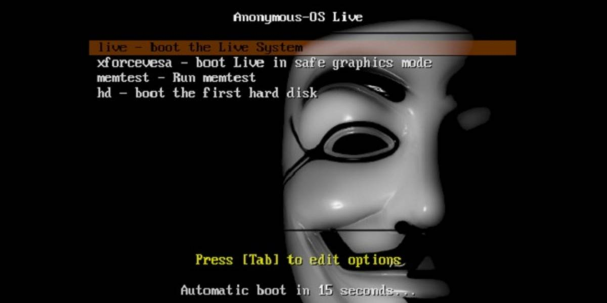 SourceForge eliminó el sistema operativo Anonymous de su servicio