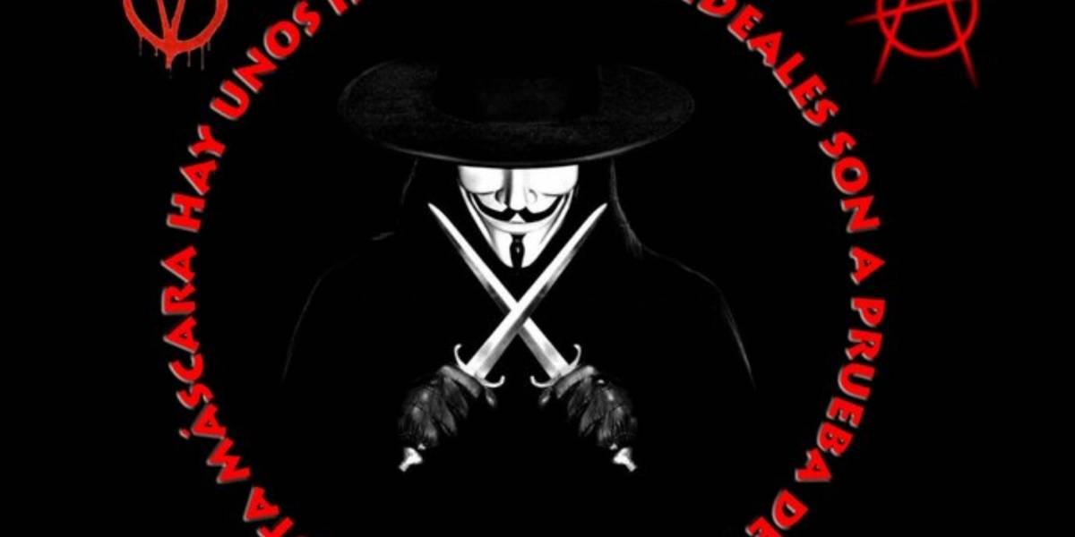 Anonymous filtró datos personales de los que apoyaron la Ley Sinde-Wert