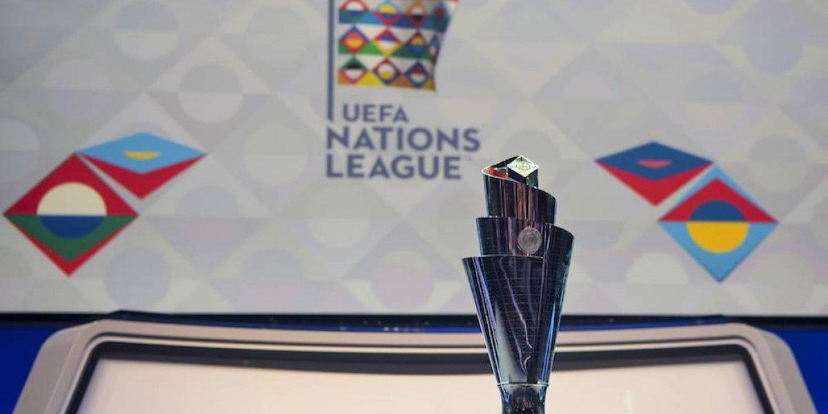 Se realiza sorteo de la primera edición de Liga de Naciones