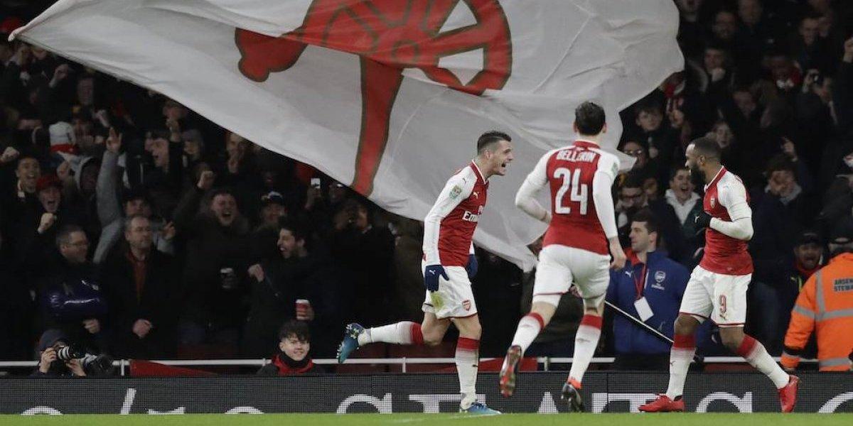 Arsenal elimina al Chelsea y disputará la final de la Copa de la Liga