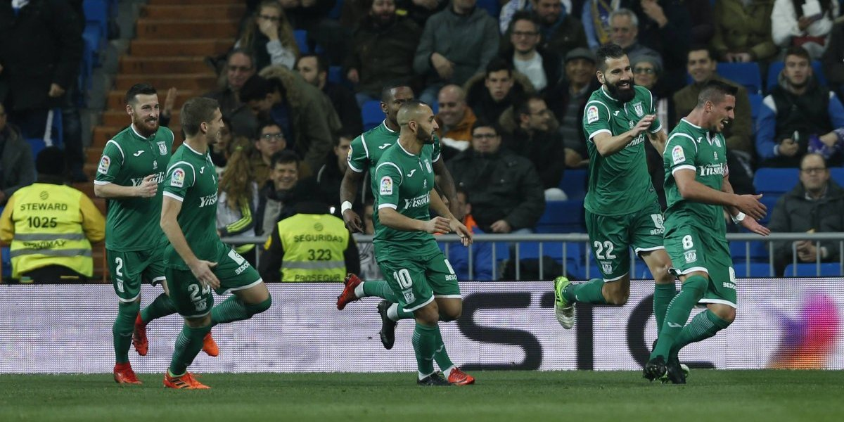 Leganés dio el batacazo en la Copa del Rey y eliminó al Real Madrid