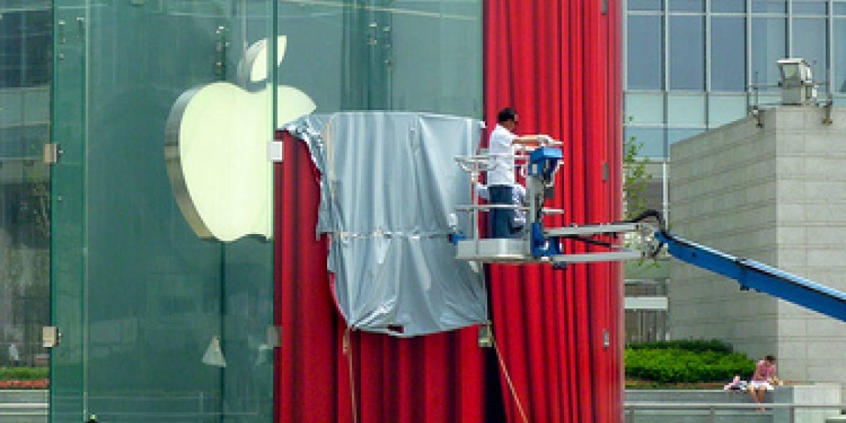 Apple abre su primera tienda en Shanghai