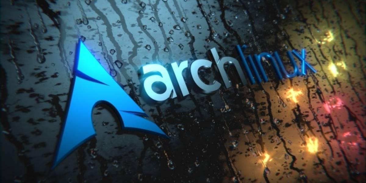 Liberan nueva revisión de la distribución Arch Linux