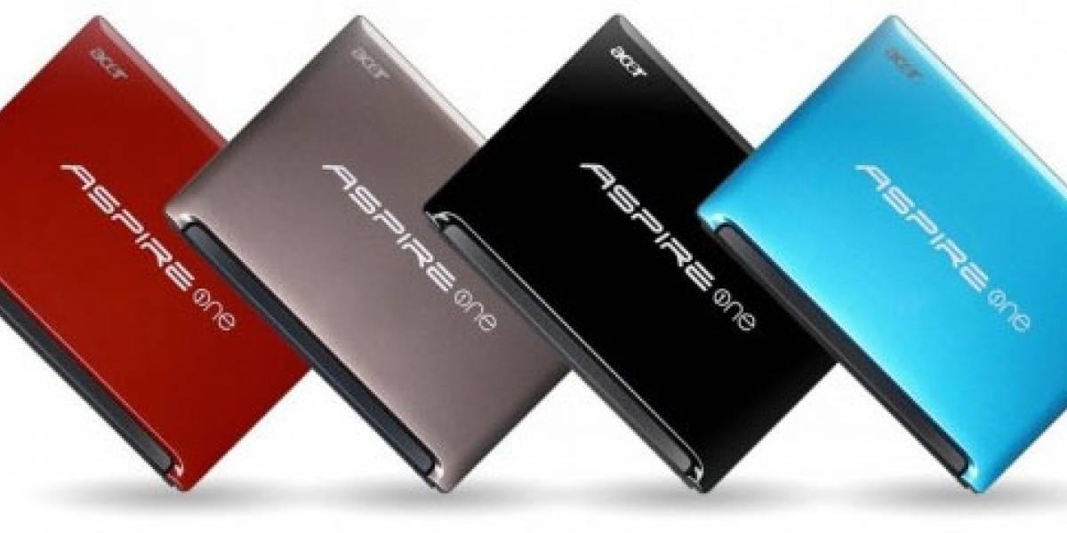 Acer presenta su nueva netbook Aspire One con procesador Intel Atom N570