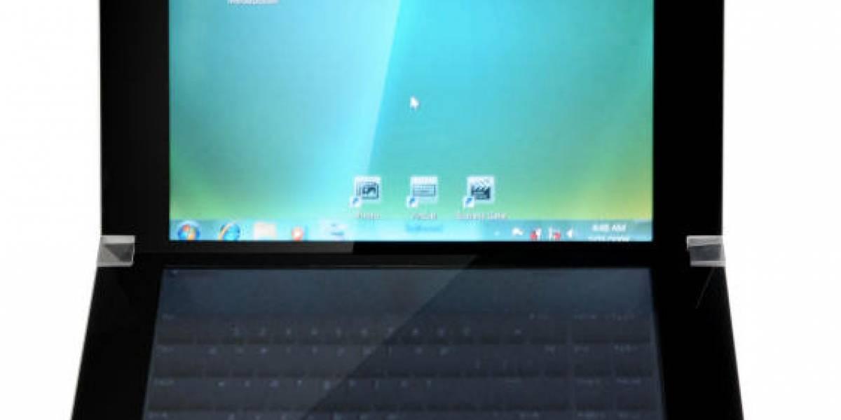 Asus exhibe un portátil de doble pantalla multitáctil y consulta tu opinión
