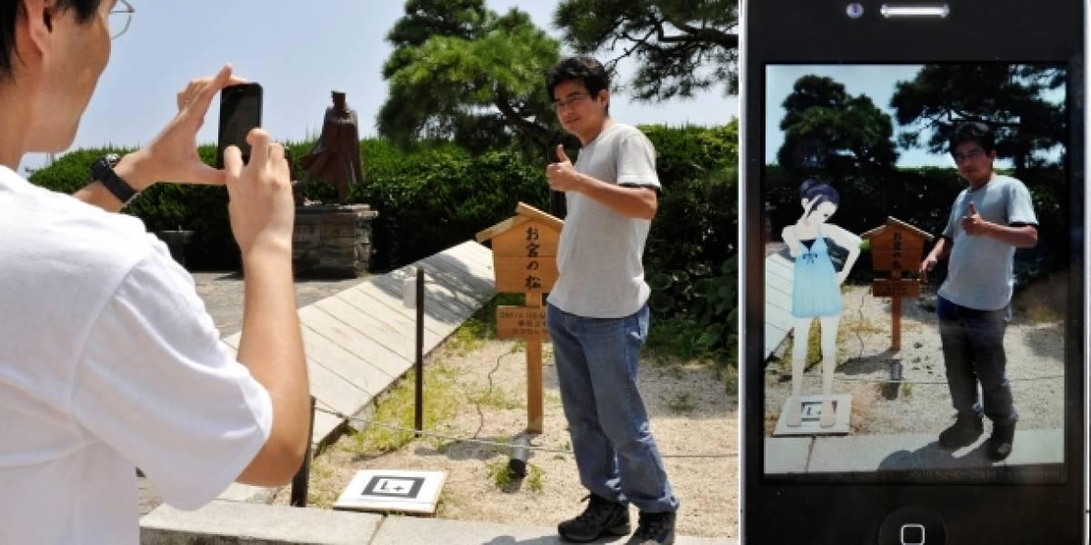Última atracción en Japón: novias de realidad aumentada