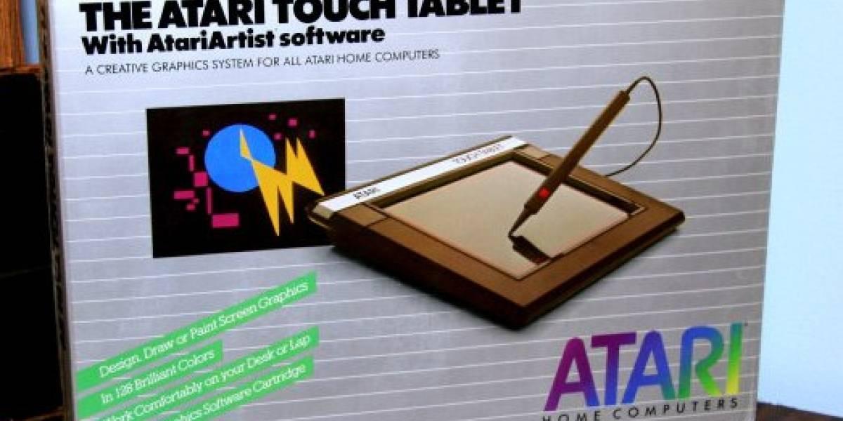 Arqueología: Desempacando un Atari Touch Tablet CX77 1984