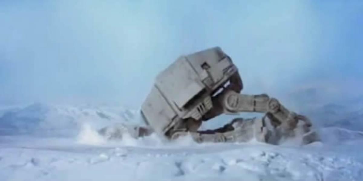 Lucasfilm derribó el proyecto del AT-AT Walker a escala real