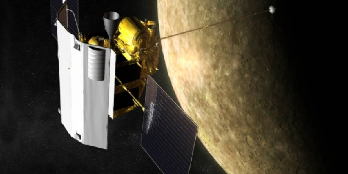 Sonda Messenger de la NASA se aproxima a la órbita de Mercurio