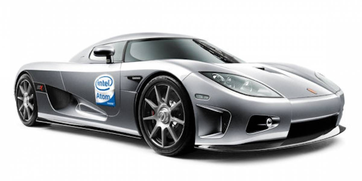 Intel quiere procesadores Atom en nuestros automóviles