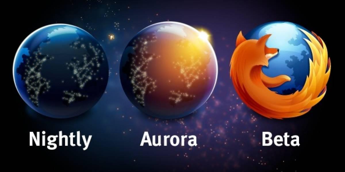 """Firefox 5 entra en etapa """"Aurora"""", el nuevo canal de lanzamientos de Mozilla"""