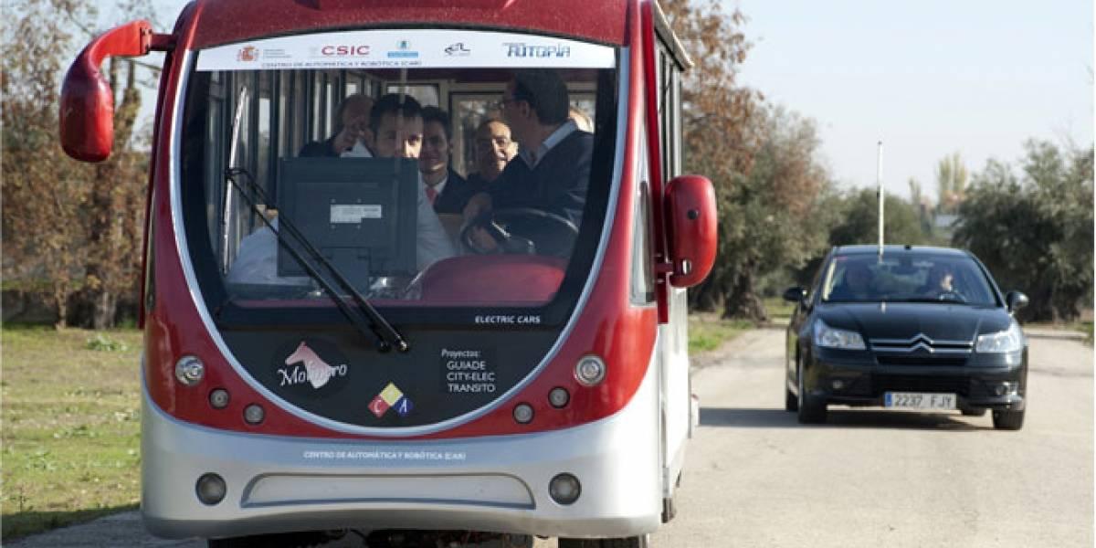 España: Presentan prototipo de autobús inteligente