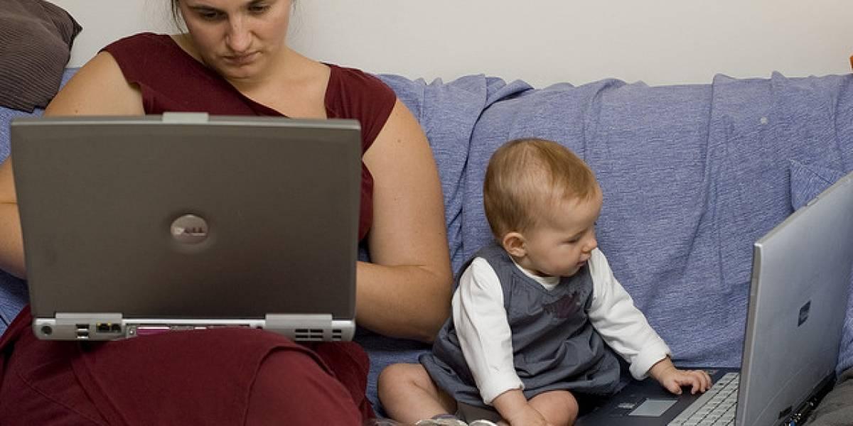 Estudio revela que un 92% de los niños de EE.UU. aparecen en internet antes de sus dos años