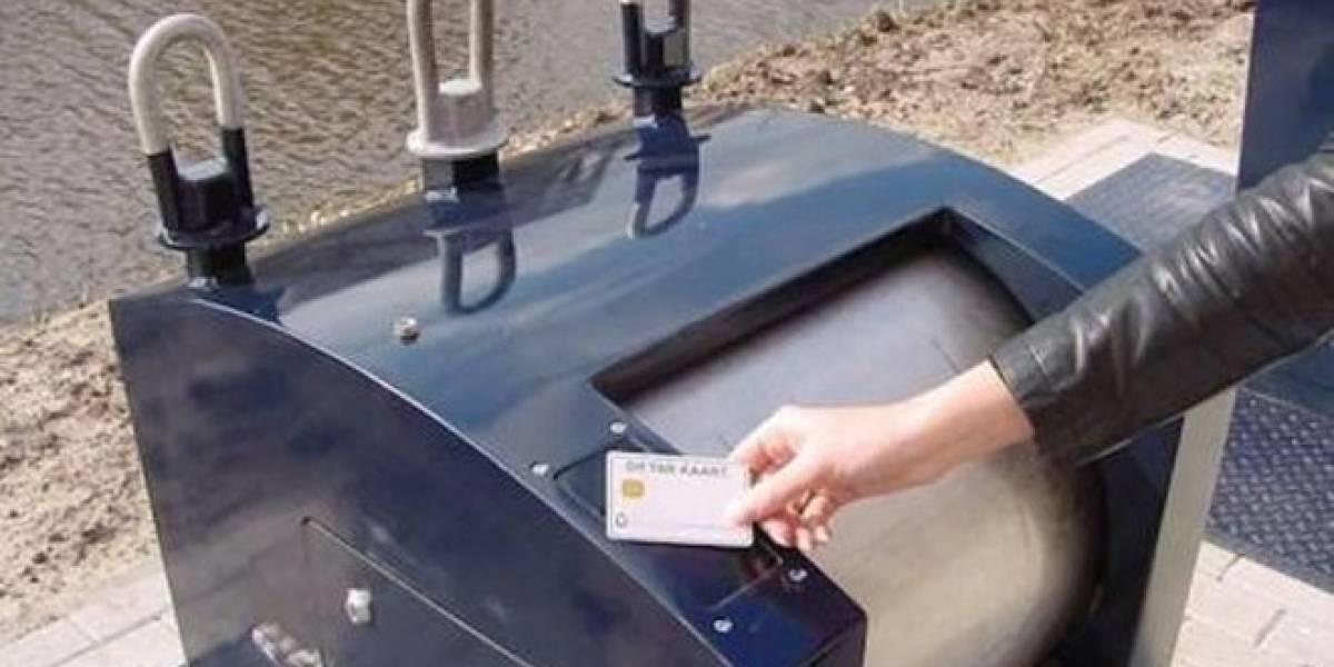 Los contenedores de basura se hacen 'inteligentes' en Holanda