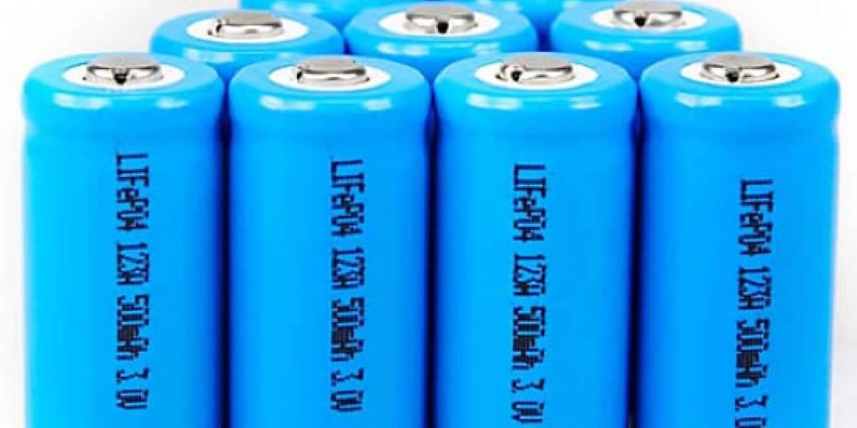Investigadores crean modelo de baterías que se cargan en minutos