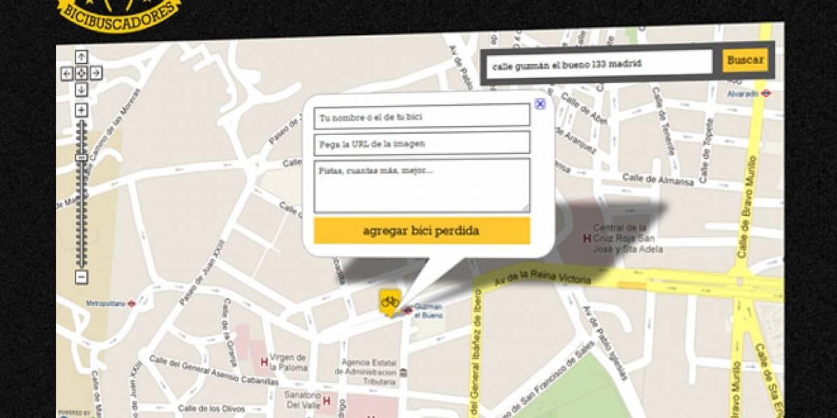 #buscomibici: Un buscador para encontrar bicicletas robadas en España