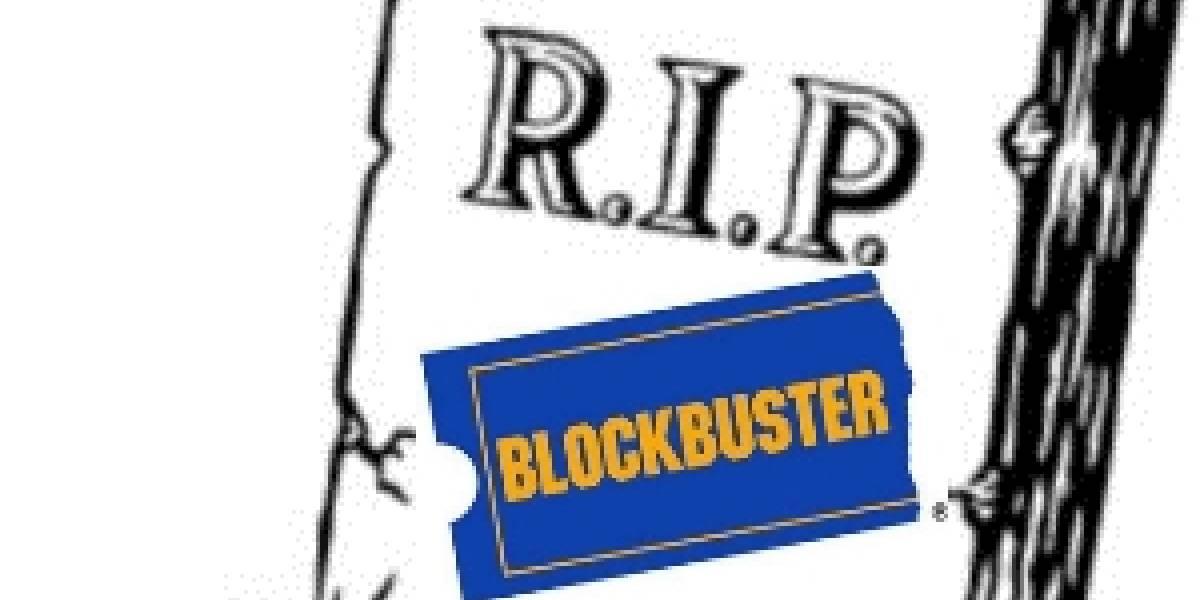 Blockbuster finalmente solicitará su quiebra