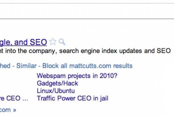 Google permitirá bloquear sitios para que no aparezcan en