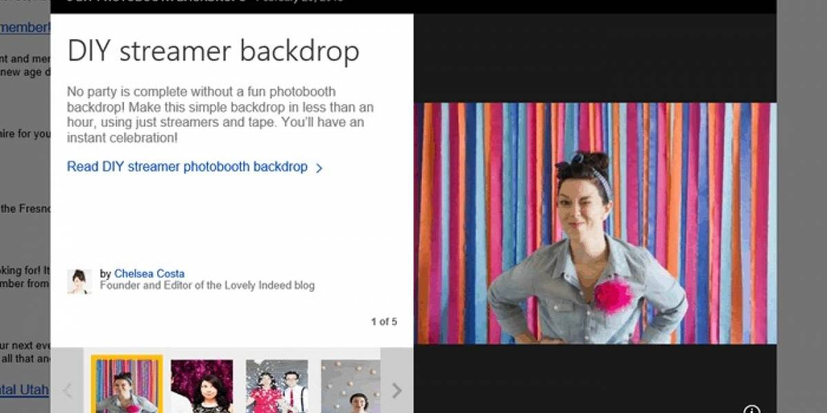 Bing presenta contenidos en diapositivas como complemento a los resultados de búsqueda