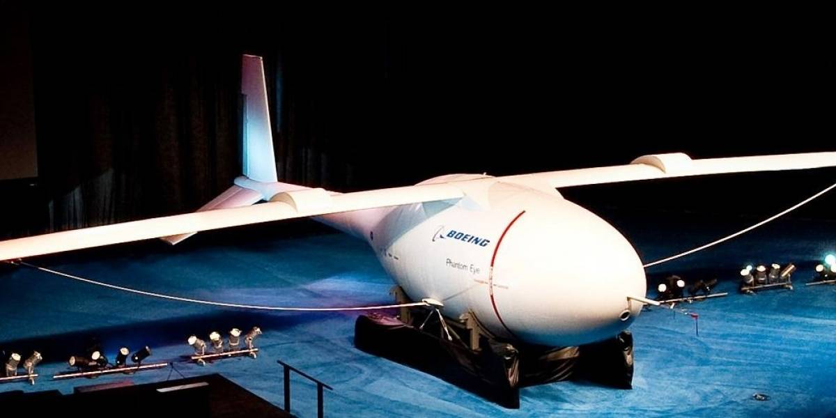 Avión espía de Boeing volará 4 días usando hidrógeno
