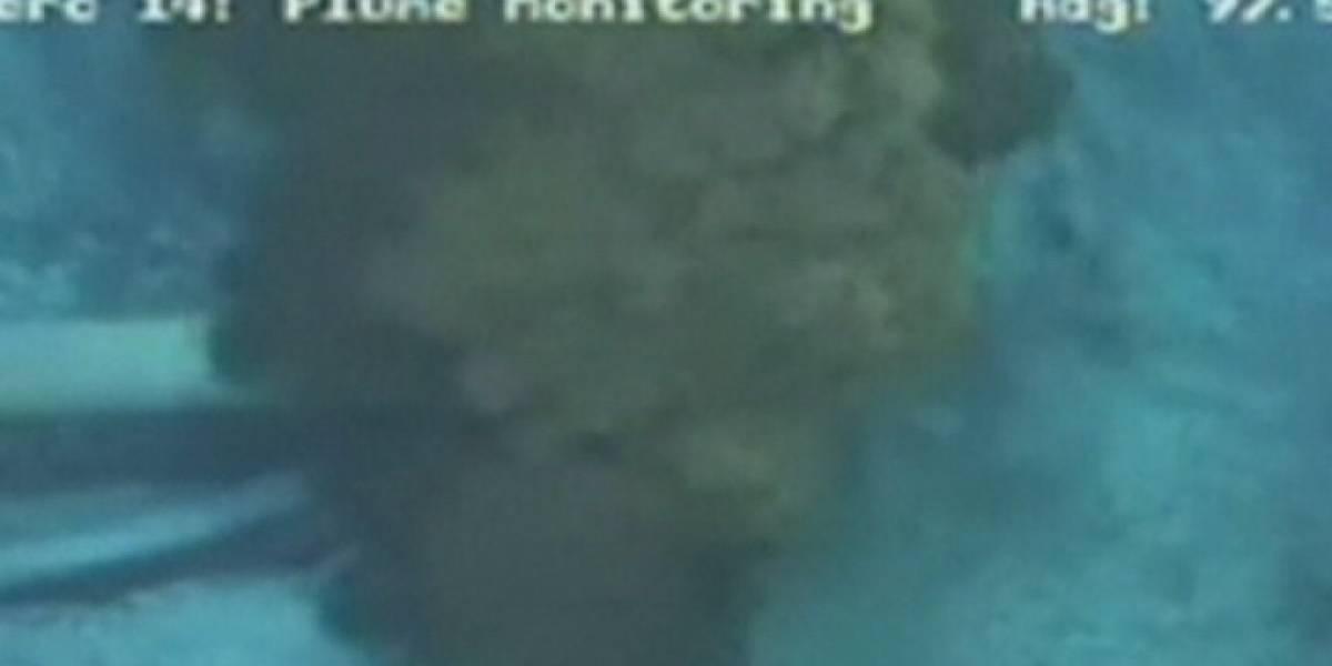 BP logra completar con éxito el primer paso para detener la fuga de petróleo