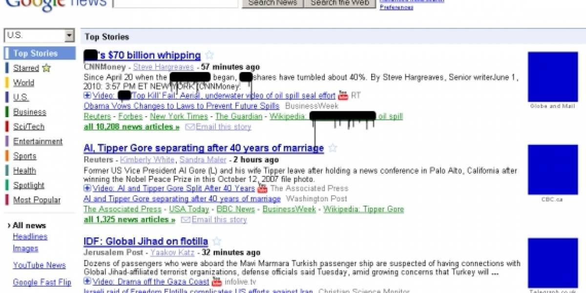 Plugin para Firefox coloca una mancha de petróleo en cualquier referencia a British Petroleum