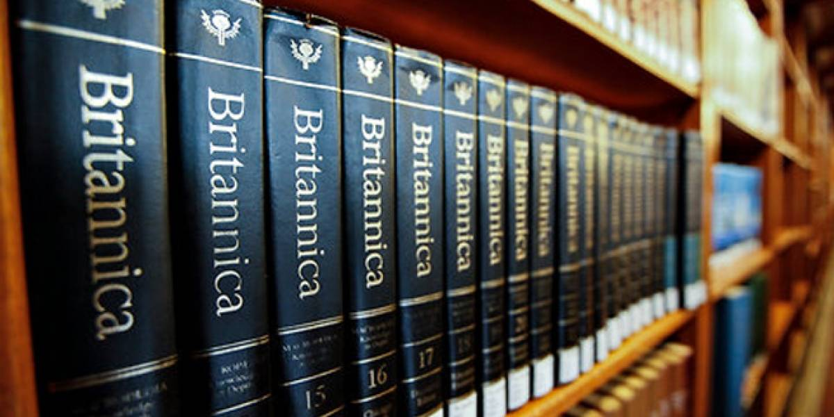 La Enciclopedia Británica dejará de imprimirse y comercializarse en papel