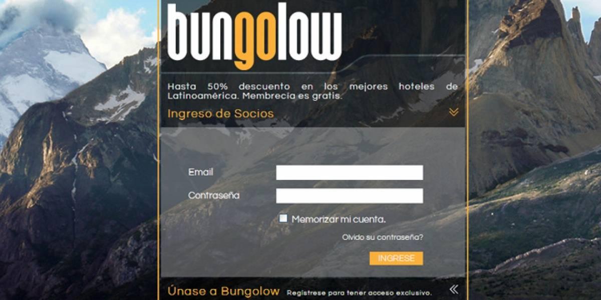 Bungolow: Hoteles con descuento para Latinoamérica (FW Startups)