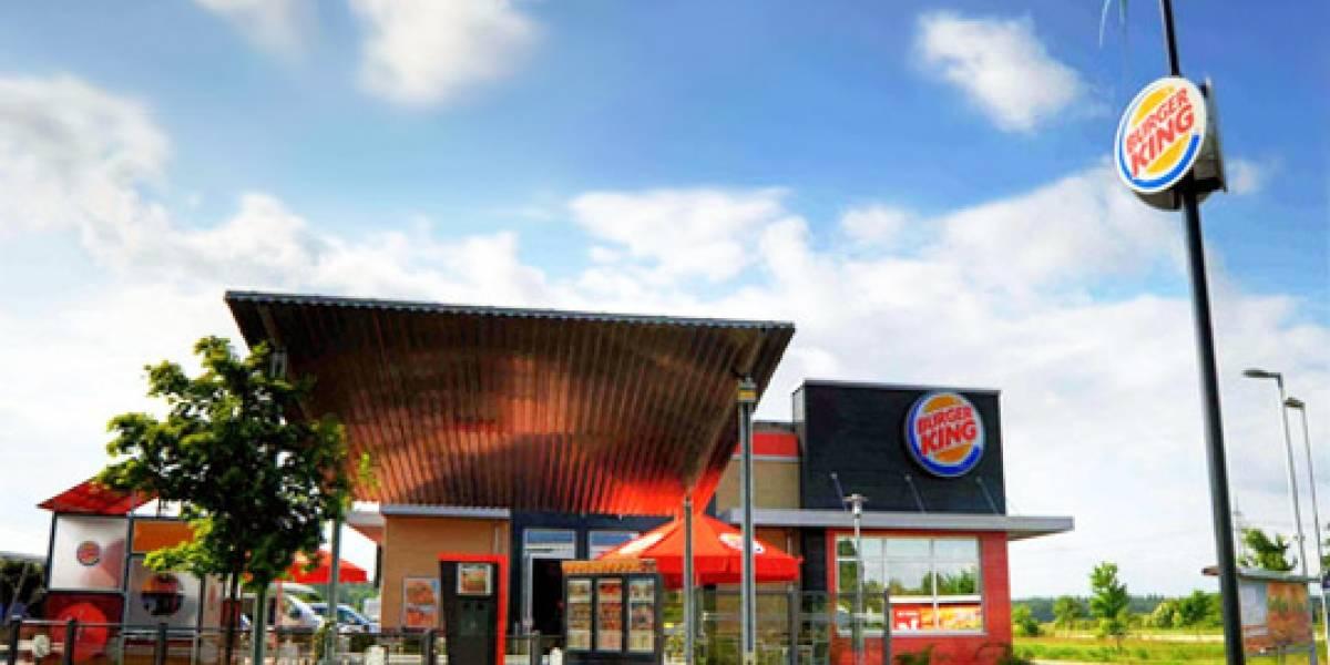 Burger King alimentado por energía solar y eólica