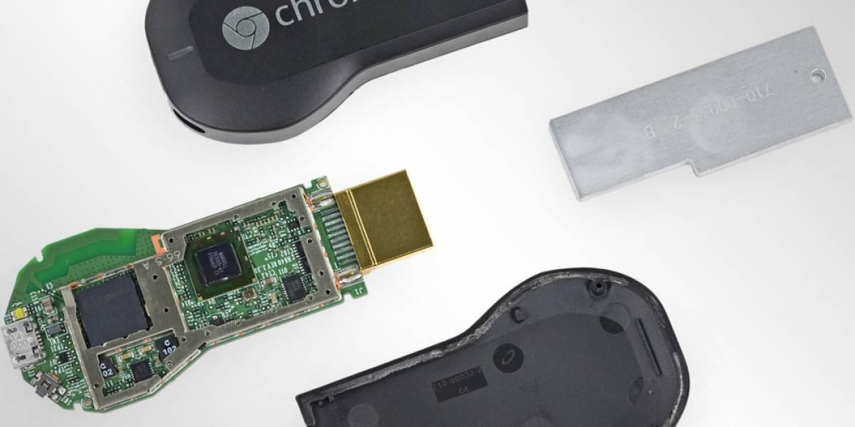 Así es el Chromecast por dentro