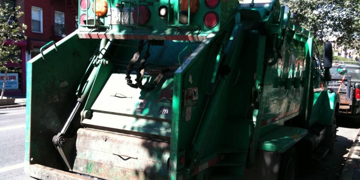 Estudiante chileno crea sistema que avisa cuándo pasará el camión de basura