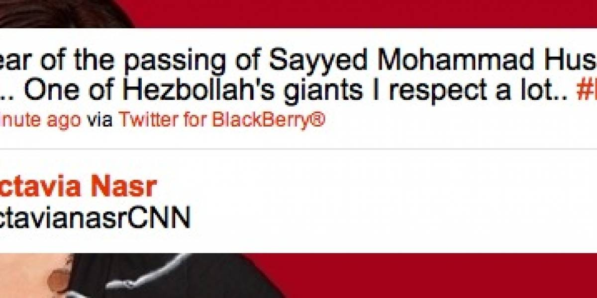 Despiden a editora de CNN por un tweet
