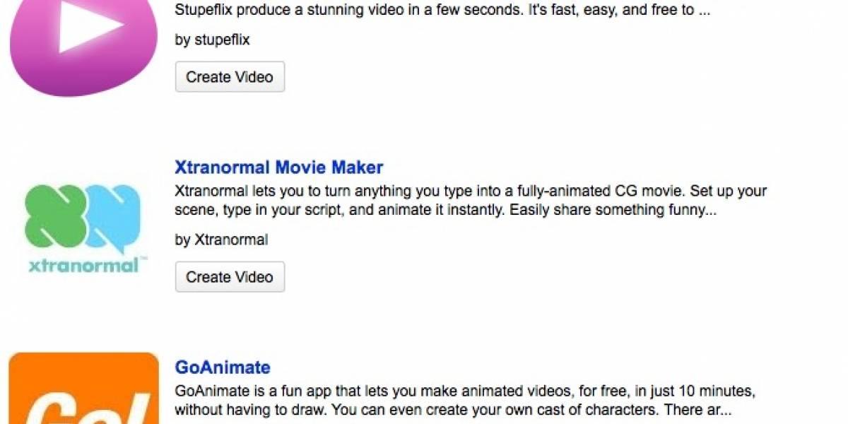 YouTube agrega herramientas para hacer animaciones y slideshows