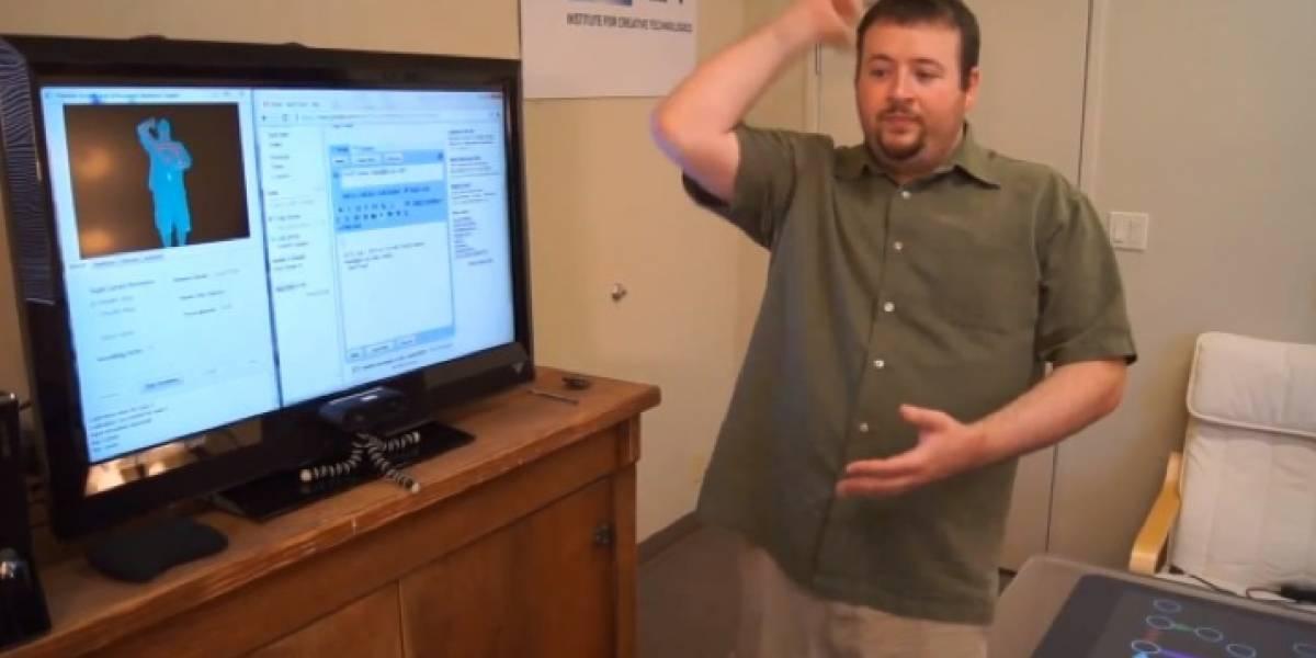 ¡Gmail Motion funciona de verdad (con un hack de Kinect)!