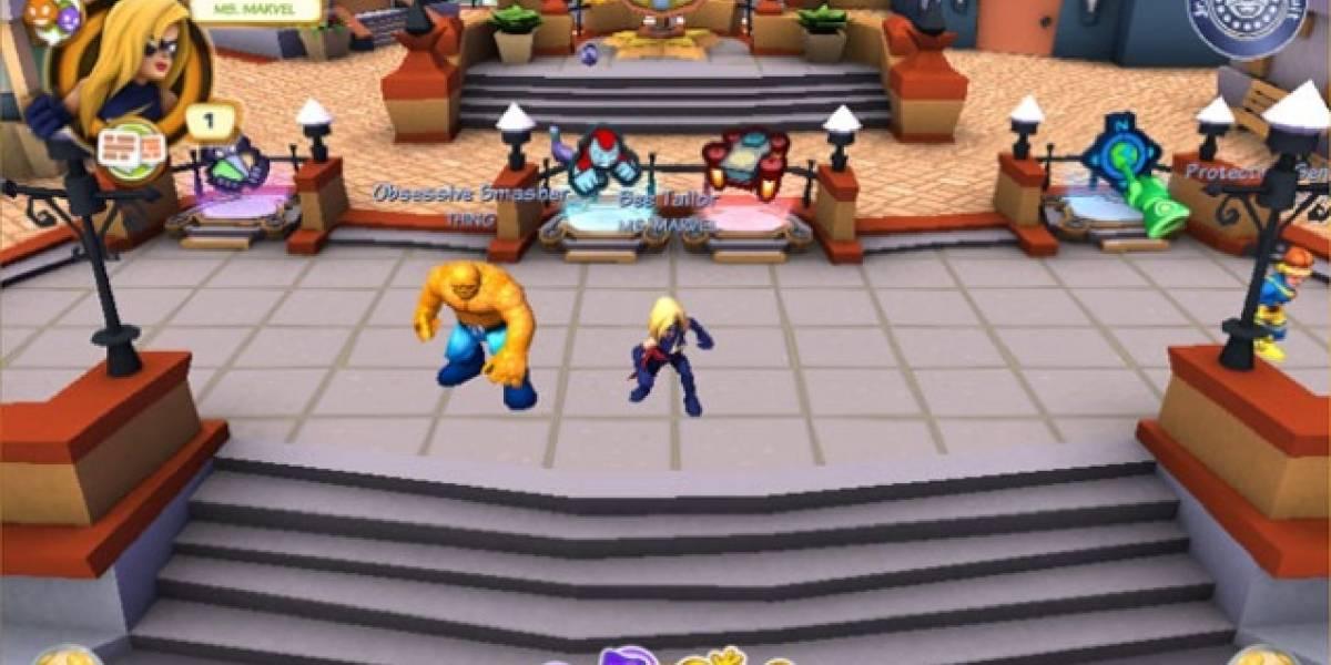 Marvel prepara MMORPG gratuito, libera juego para niños