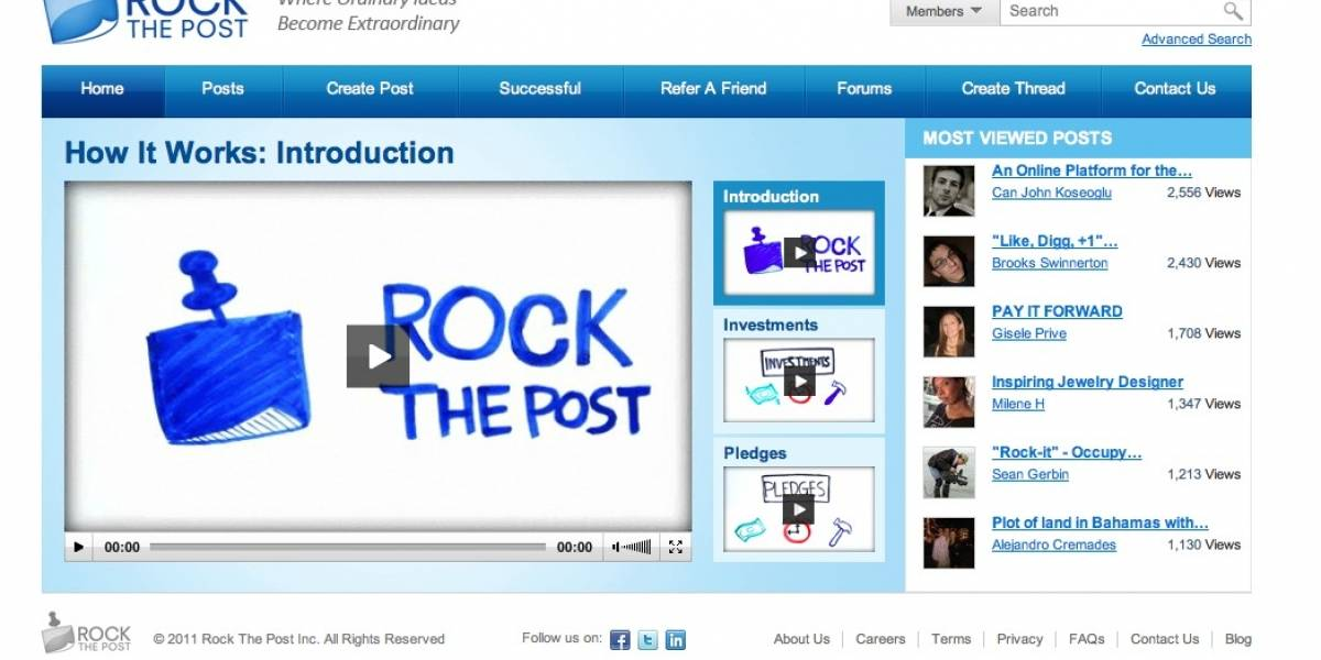 Rock The Post, una red social para emprendedores