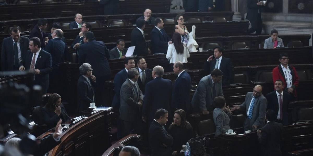 Guatemaltecos pagaron Q4.4 millones por cada diputado en 2017