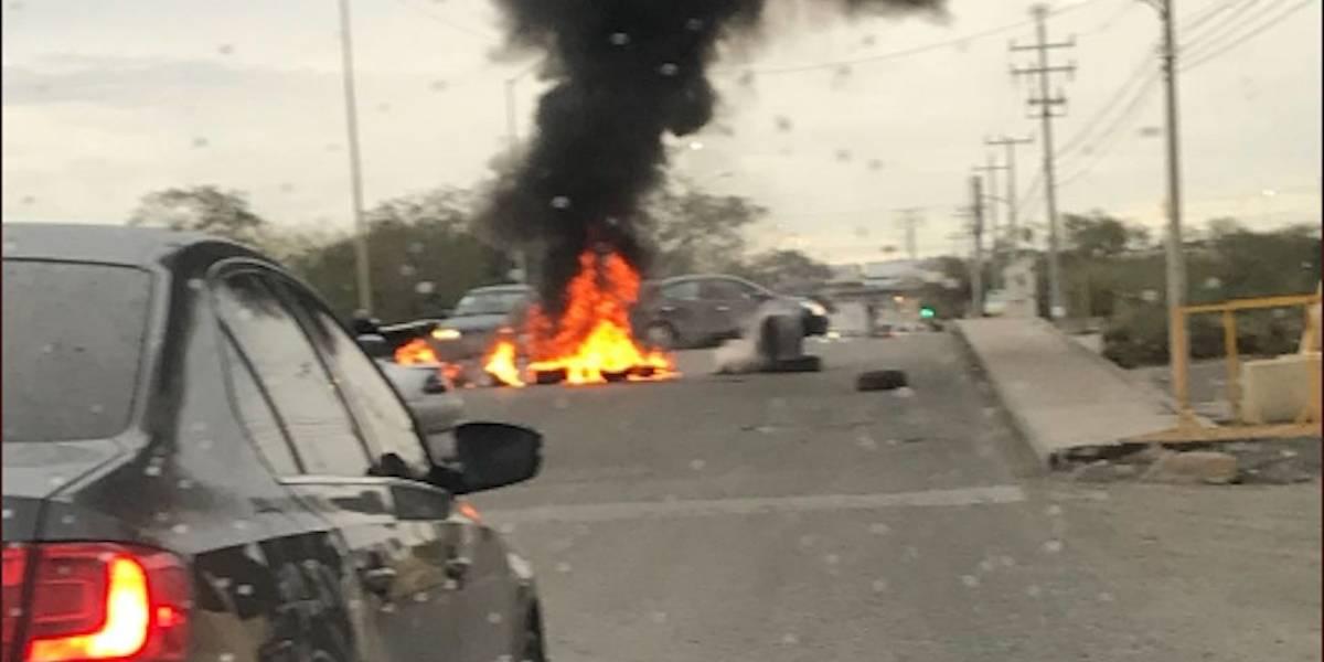 Reportan balaceras y al menos 10 bloqueos en Reynosa