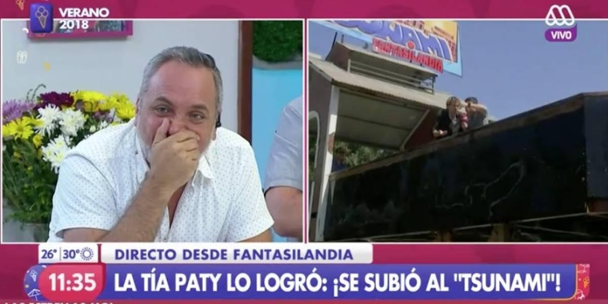 """Patricia Maldonado y el desafío que la llevó a los gritos: """"Bájenme de aquí, por favor"""""""
