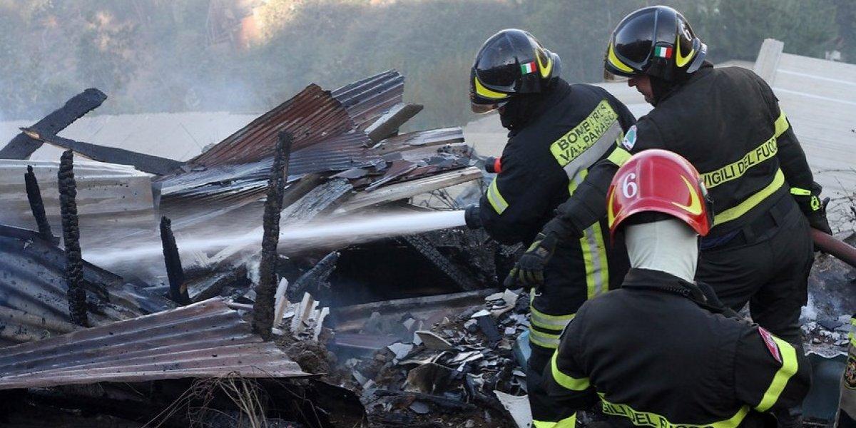 Villa Alemana: se metió a la casa de su ex para espiarla pero se escondió tan bien que nadie lo rescató durante incendio