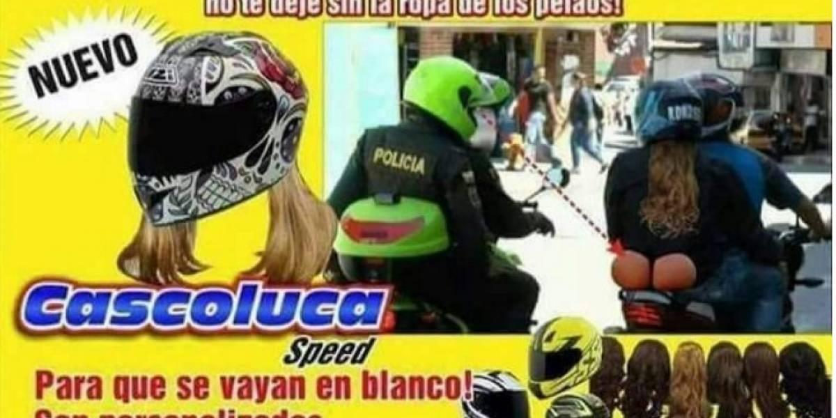 Los memes y las ingeniosas respuestas de los bogotanos tras la decisión de prohibir el parrillero en moto