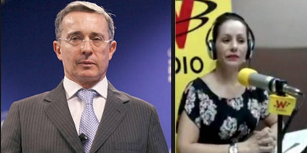 ¡Respondió! Álvaro Uribe habló sobre la violación de Claudia Morales