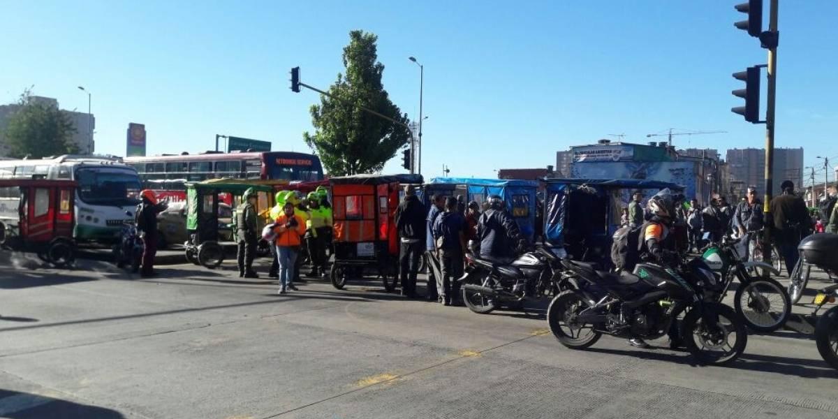 ¡Atención! Colapso en TransMilenio por bloqueos a esta hora
