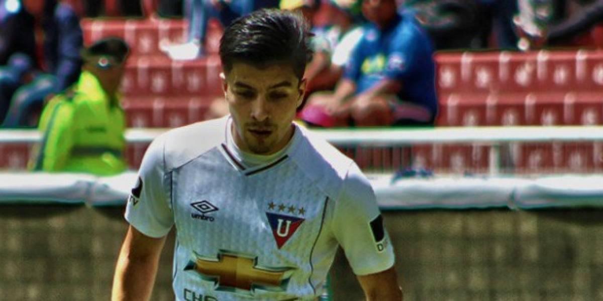 Liga de Quito hace oficial la salida de Sherman Cárdenas
