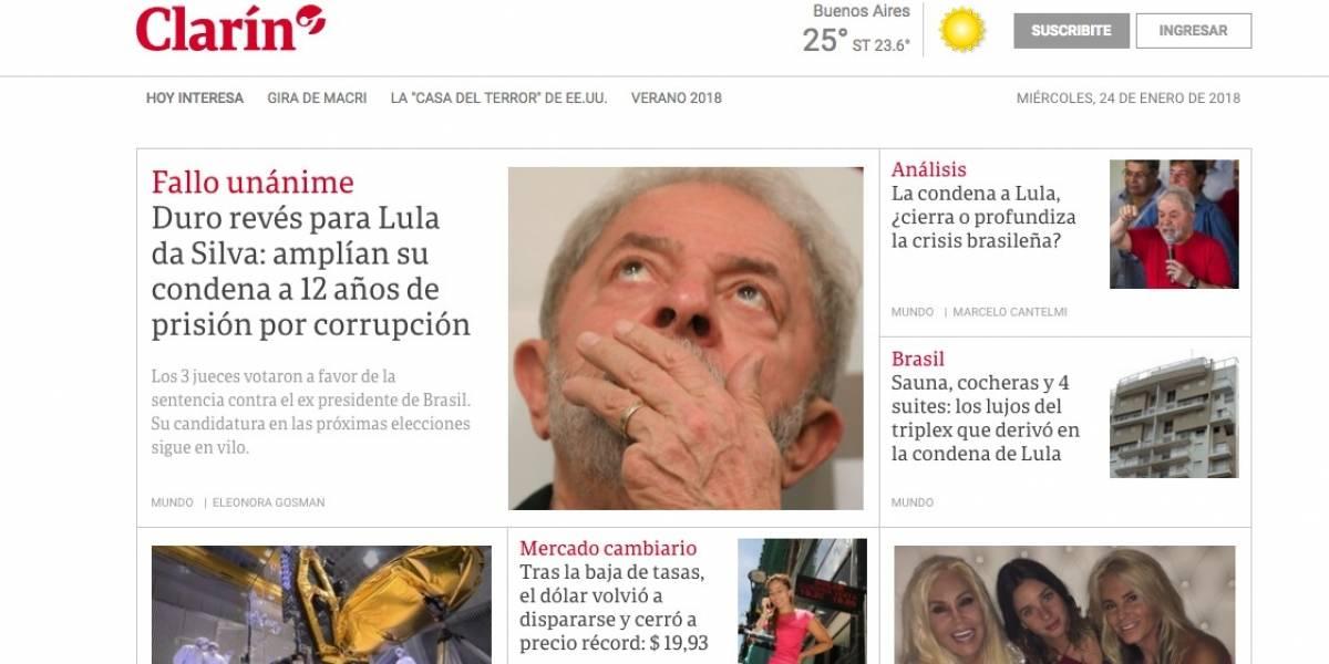 Mídia internacional aponta incerteza política após nova condenação de Lula